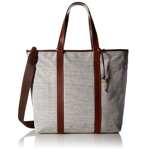 6c1c5dd4d53a Fossil Handbags - FOSSIL Maya Work Tote-Brown