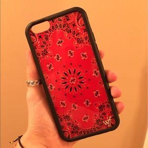 Wildflower Accessories - Wildflower Bandana iPhone 6 Case