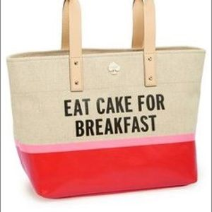 Kate Spade - Eat Cake for Breakfast Tote