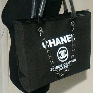 b53dd19dc8fd03 chanel Bags | Vip Gift Canvas Tote | Poshmark