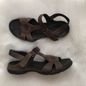 Ecco Shoes - Brown Ecco Strappy Sandals