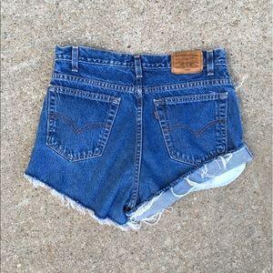 Levi's Pants - Vintage Levi's High Waisted Mom Jean Shorts