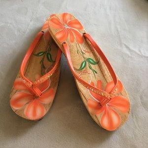 Shoes - Wooden sandals