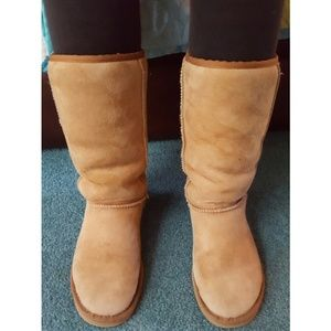 UGG Shoes - UGG Classic Tall Chestnut Boots Shoes Size 7