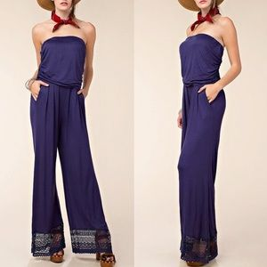 MANHATTAN Strapless Jumpsuit