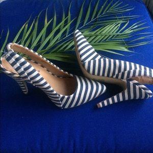 ShoeDazzle Shoes - Nautical Heels