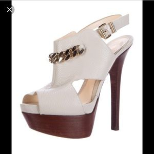 Fendi chain link sandal