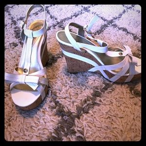 Guess Shoes - 💕SALE💕GUESS White Valene Wedge