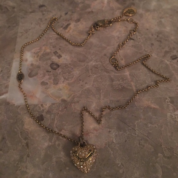 82 off juicy couture jewelry juicy couture gold heart