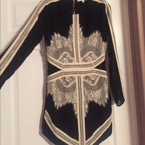 Endless Rose Dresses & Skirts - NEVER WORN Black and White Long Sleeve Dress