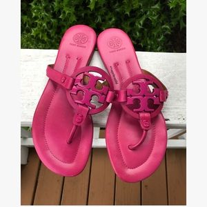 Tory Burch Shoes - Tory Burch Miller Sandals Pink