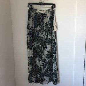 JH Dresses & Skirts - Long Flowy Skirt with Paisley Print