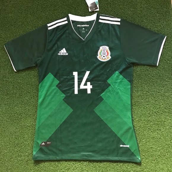 25dcef6af4a MEXICO Soccer Jersey CHICHARITO 2017 green home