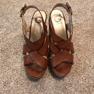 Steve Madden Shoes - Guess Wedge Sandals
