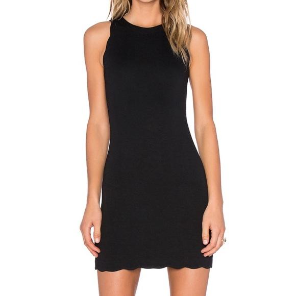 e20c5678cfd For Love and Lemons x Revolve Rosarito Dress Black