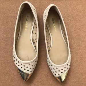 Sole Society Shoes - sole society • cap toe flat