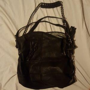 Cut and Paste Handbags - Black Cut and Paste purse