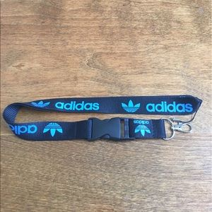 adidas Other - New Adidas Lanyard ID Badge Holder Black & Blue