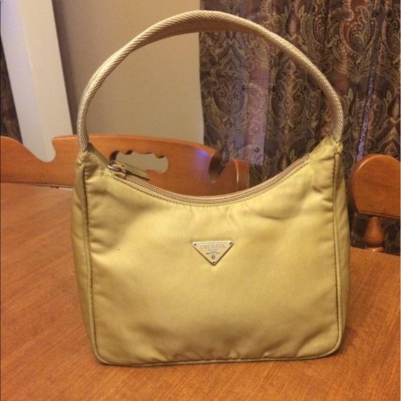 dbb66a01dc917a Authentic Prada Tessuto Sport Handbag in Camel. M_5941f3097f0a05183f016e11