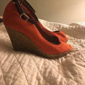 Zara Wedges with ankle strap