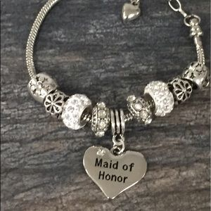 Jewelry - Maid of Honor Gift Bracelet, Bridesmaid Bracelets