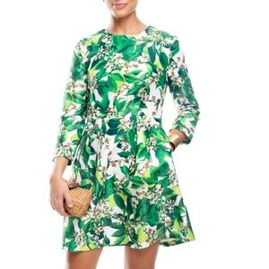 Blaque Label Dresses & Skirts - Blaque Label long sleeve tropical dress