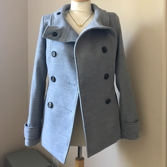 Grey jacket womens h and m