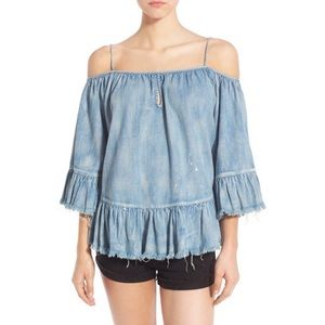 Blank NYC off the shoulder top