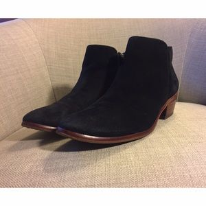 Sam Edelman Shoes - Sam Edelman Petty Ankle Boots in Black Suede (6)