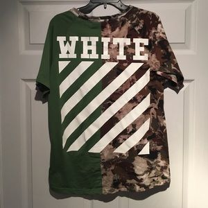 Off-White Other - Off-White Split Camo T-Shirt