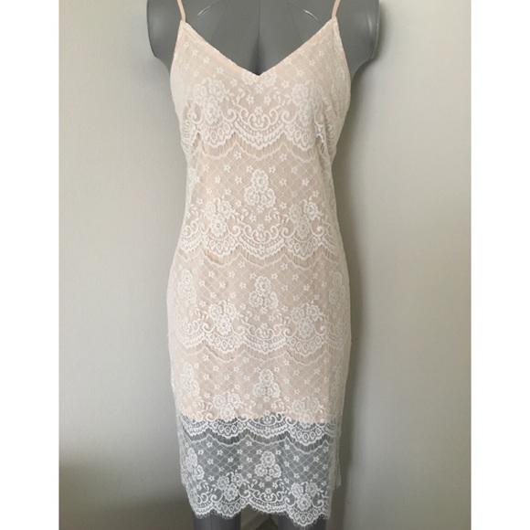 5e8047e0ba8d Forever 21 Eyelash Lace Cami Dress NWT