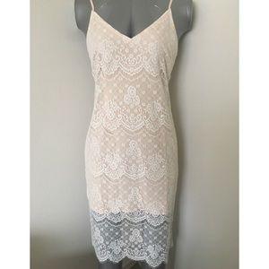 Forever 21 Eyelash Lace Cami Dress NWT