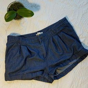 Forever 21 Blue Shorts Size 28