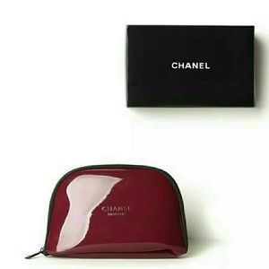 CHANEL Other - Chanel burgundy travel case