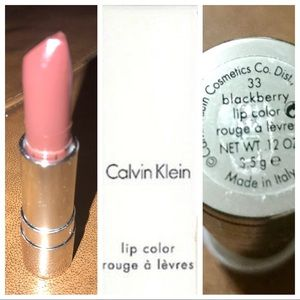 Calvin Klein Lipstick in Blackberry made in Italy