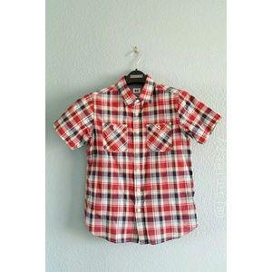Uniqlo (Boys) | Plaid Short Sleeve Shirt