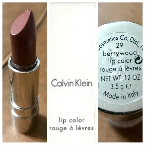 säljs över hela världen sneakers för billiga på fötter skott av Calvin Klein Makeup | Lipstick In Berrywood Made In Italy | Poshmark