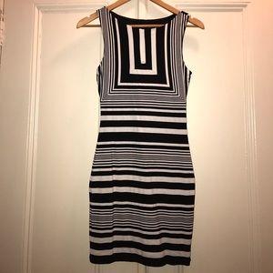 Stripe-pa-licious Bebe Dress (rare)