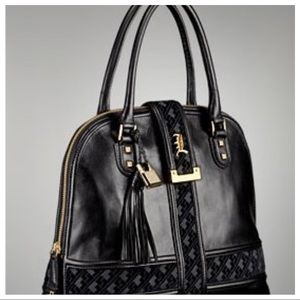 L.A.M.B. Handbags - L.A.M.B VERONA BAG NWT BLACK