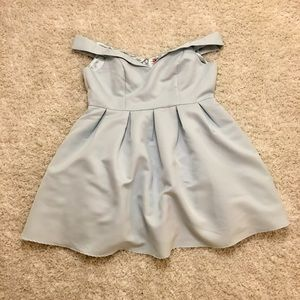 Modcloth Dresses & Skirts - Vogue Devotion Blue Cocktail Dress