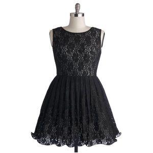 ModCloth Dresses & Skirts - Cherished Celebration Dress In Black