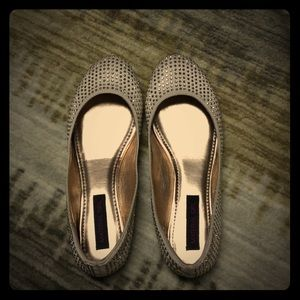 Bedazzled Flat Shoes