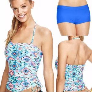 Hula Honey Other - 🆕List! Aztec Tankini Boyshort Swimsuit! NEW!