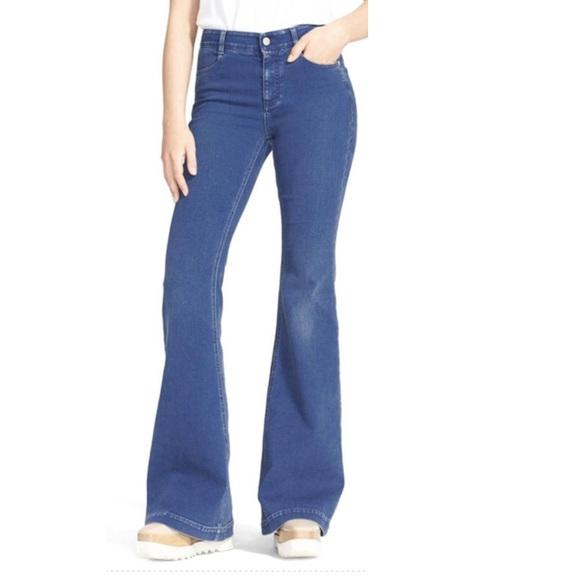 11% off Stella McCartney Denim - Brand New - Stella McCarthy u0026#39;The u0026#39;70su0026#39; Flare Jeans from Teijai ...