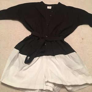 Alice & You Other - Black and white romper only worn once