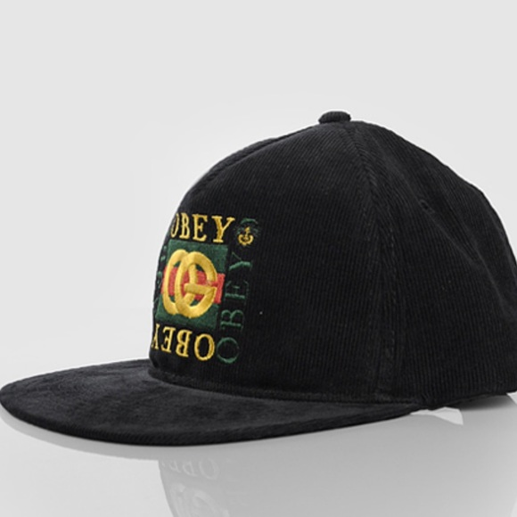 "d65a1435ea3 OBEY ""Knockoff"" Snapback Men s Hat"
