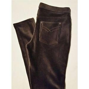 HUE Pants - Hue Chocolate Brown Soft Leggings