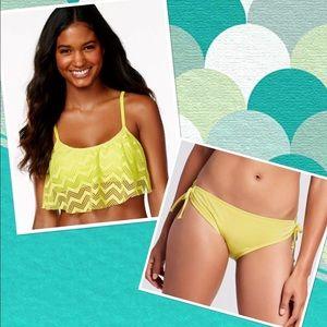 Hula Honey Other - 🆕List! Lemonade Flounce Crochet Bikini! NEW!