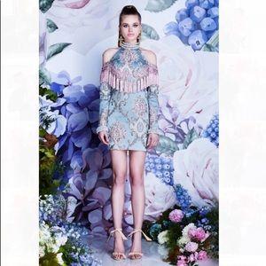 Asilio Dresses & Skirts - Embroidered jacquard mini dress