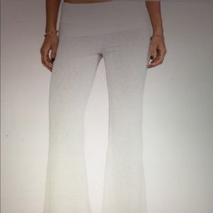 Blue Life Pants - Blue Life  Daydreamer Flare Pants in Cream NWOT